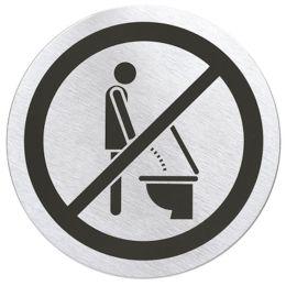 """Türschild """"Bitte setzen"""" Schild Klo Toilette WC 68146 Kloschild"""