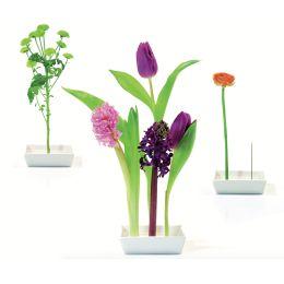 Vase Florida Design Tischdekoration Tischdeko Blumen Dekoration Tischvase Blumenvase Steckvase