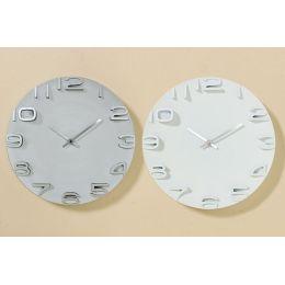 Wand-Uhr Annika Zeitmesser Wanduhr Uhr Clock Time Wohnuhr Uhrzeit Uhrzeitmesser 3D Uhr
