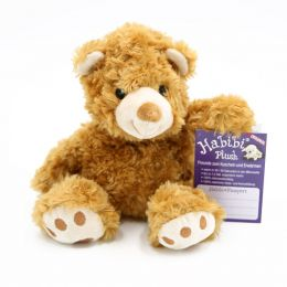 Wärmetier Teddy Bär hellbraun Teddybär Kuscheltier Wärmflasche Plüschtier Stofftier Wärmekissen