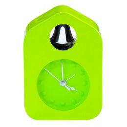 Wecker Ring a bell grün Alarmuhr wecken Glocke Klingel modern