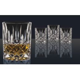 Whiskygläser 4er Set Noblesse Whiskyset Whisky-Glas Gläser Becher Whiskyglas Kristall Tumbler