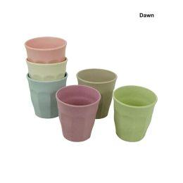 Zuperzozial Becher M Dawn Set 6 Stück Kinderbecher Mais Bambus nachhaltig