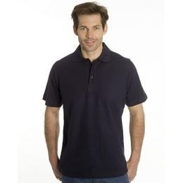 SNAP Polo Shirt Star - Gr.: L, Farbe: schwarz