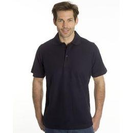 SNAP Polo Shirt Star - Gr.: XL, Farbe: schwarz