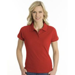 SNAP Polo Shirt Top-Line Women rot, Grösse XL