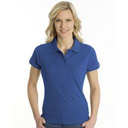 SNAP Polo Shirt Top-Line Women royalblau, Grösse 3XL