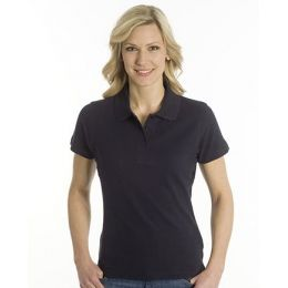 SNAP Polo Shirt Top-Line Women schwarz, Grösse M