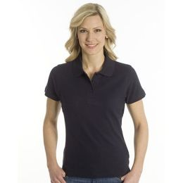 SNAP Polo Shirt Top-Line Women schwarz, Grösse S