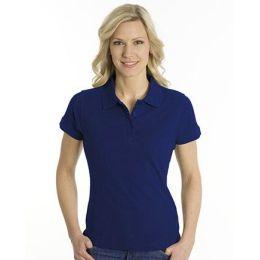 SNAP Polo Shirt Top-Line Women tiefdruckfarbe blau, Grösse 2XL