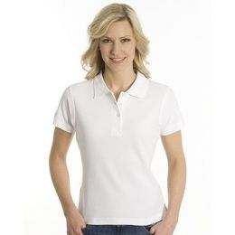 SNAP Polo Shirt Top-Line Women weiss, Grösse 2XL