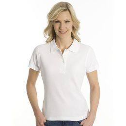 SNAP Polo Shirt Top-Line Women weiss, Grösse 3XL