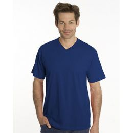 SNAP T-Shirt Flash Line V-Neck Unisex, navy, Gr. M