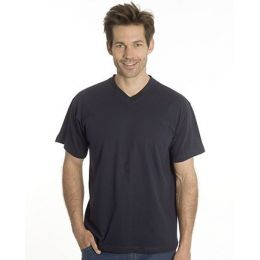 SNAP T-Shirt Flash Line V-Neck Unisex, schwarz, Gr. M