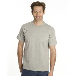 SNAP T-Shirt Flash-Line, Gr. 4XL, grau meliert