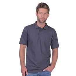 SNAP Workwear Polo Shirt P1, Dunkel Grau, Grösse XL