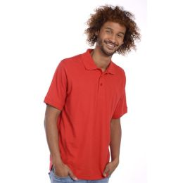 SNAP Workwear Polo Shirt P1, Rot, Grösse M