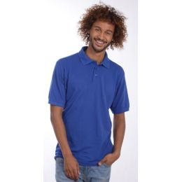 SNAP Workwear Polo Shirt P1, Royal Blau, Grösse L