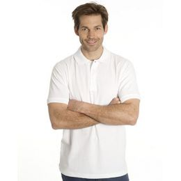 SNAP Workwear Polo Shirt P1, Weiss, Grösse L