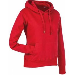 Stedman Active Sweat Hoody Damen purpurrot, Grösse M