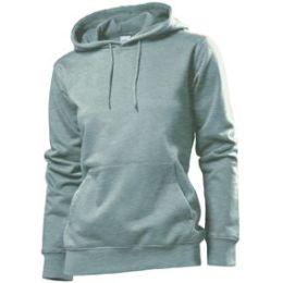Stedman Hooded Sweatshirt Women, heidekraut grau, Grösse M