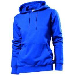 Stedman Hooded Sweatshirt Women, reyalblau, Grösse M