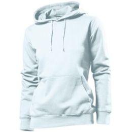 Stedman Hooded Sweatshirt Women, weiss, Grösse S