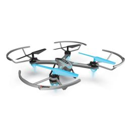 Quad-Copter DIYI D16 2.4G + Gyro/One Key Return (Grau-Türkis)