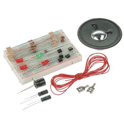 17 Elektronik Grundversuche mit Breadboard | 680-118381 / EAN:4015367118387