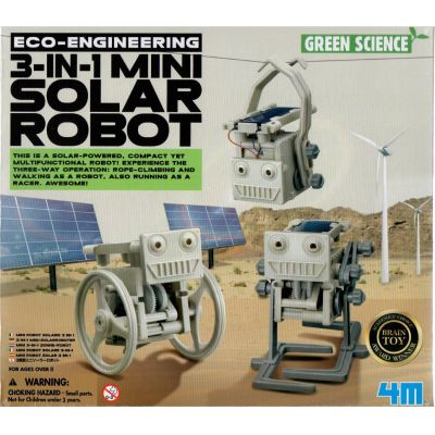 4M Eco Engineering - 3-in-1 Mini Solar Robot | 210-68496 / EAN:4018928684963