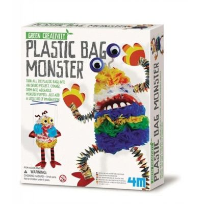 4M Green Creativity - Plastiktütenmonster   210-664580 / EAN:4018928645803