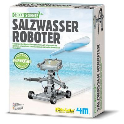 4M Green Science - Salzwasser Roboter   210-68554 / EAN:4018928682525