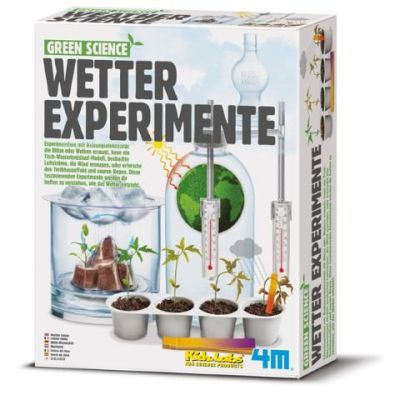 4M Green Science Wetter Experimente | 210-68474 / EAN:4018928684741