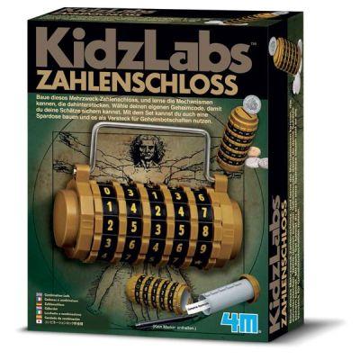 4M KidzLabs Zahlenschloss | 210-68468 / EAN:4018928684680