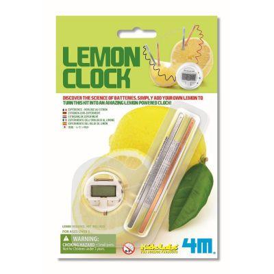4M Lemon Clock | 210-68185 / EAN:4018928681856