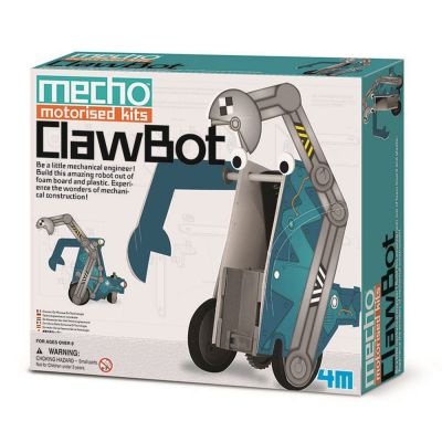4M Mecho Motorised Kits Clawbot | 210-68435 / EAN:4018928684352