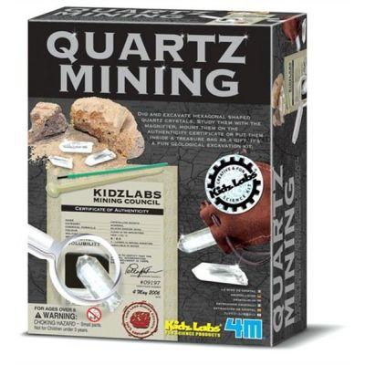 4M Quarz Ausgrabungsset   210-663264 / EAN:4018928632643