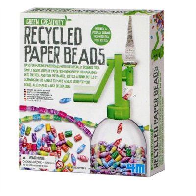 4M Recyclete Papierperlen   210-68243 / EAN:4018928682433