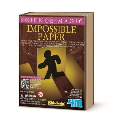 4M Science Magic - Impossible Paper Tricks | 210-68352 / EAN:4018928683522