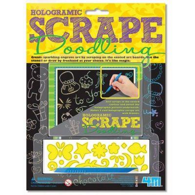 4M Scrape Doodling - Hologramm-Kritzeleien   210-68214 / EAN:4018928682143