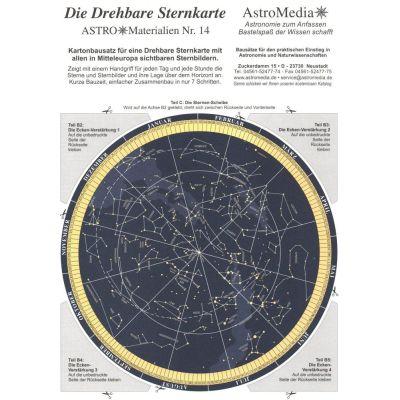 A*M14: Die Drehbare Sternkarte | 10-114.DSK / EAN:4260489740132