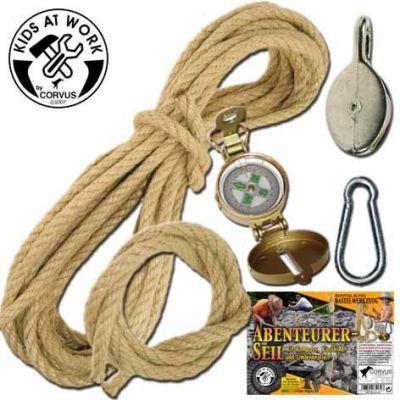 Abenteuer-Seil Set   050-A750139 / EAN:4047542751393