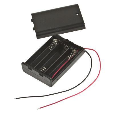 Batteriebox 4,5V mit Schalter | 680-201853 / EAN:4015367201850