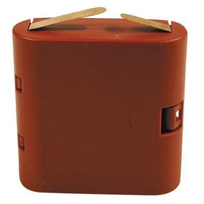 Batteriehalter 4,5V Flachbatterie (3 x Mignon) | 330-60898 / EAN:4026179608980
