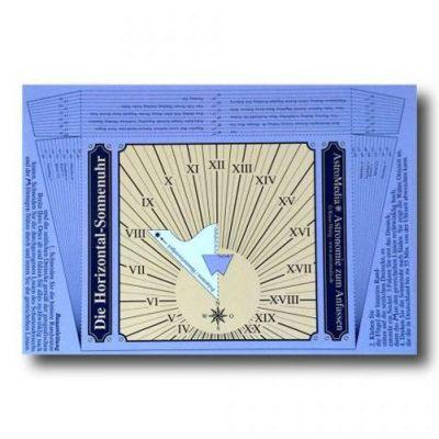 Die Postkarten-Sonnenuhr | 10-280.PKU / EAN:4260489740354