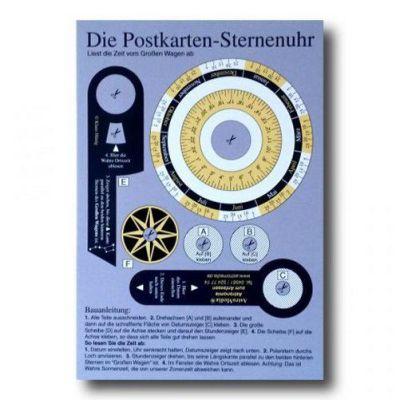 Die Postkarten-Sternenuhr   10-283.PKU / EAN:4260489740378
