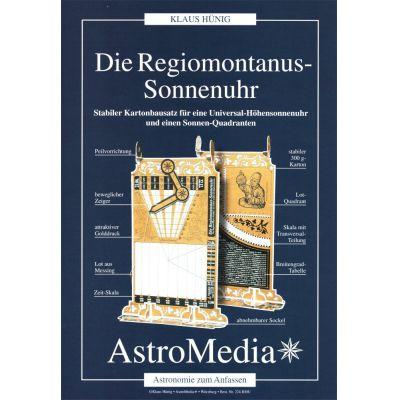 Die Regiomontanus-Sonnenuhr   10-224.RMU / EAN:4260489740200