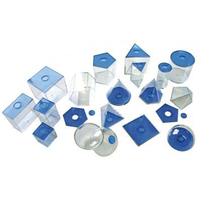 EDUPLAY Geometrische Körper, klein, blau   140-120069 / EAN:4260081547337