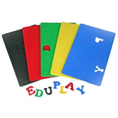 EDUPLAY Moosgummi-Buchstaben klein 130 Stück, farbig | 140-200042 / EAN:4260081540772