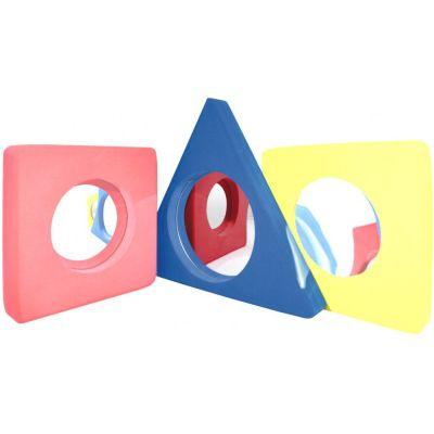 EDUPLAY Spiegel flach, blau | 140-110080 / EAN:4260081549485
